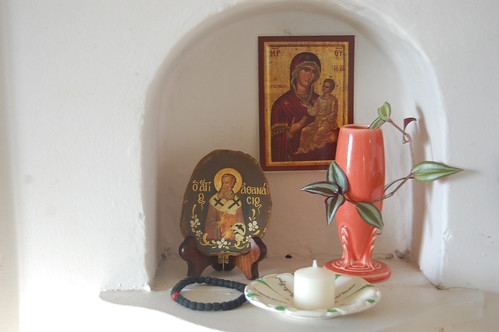 kitchen prayer nook