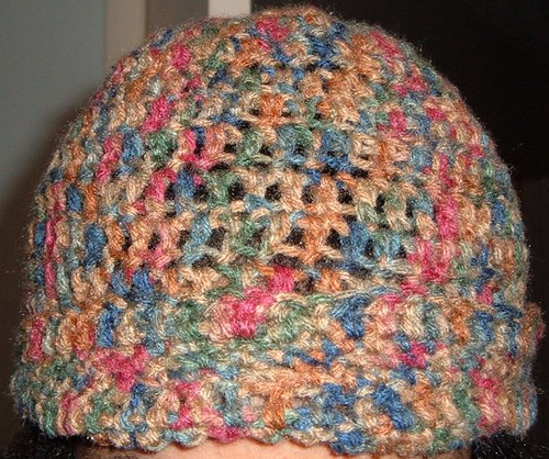 Hat front close up.
