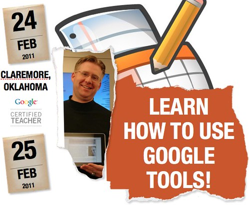 Google Tools Workshops for Educators in Claremore, Oklahoma
