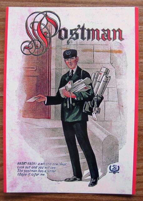Postman Postcard, front