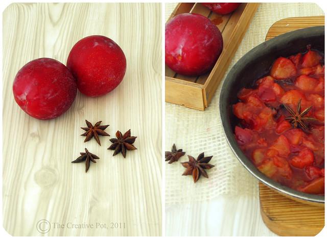 Spiced Plum Parfait - e-w