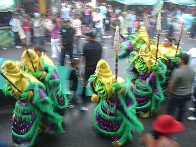 Diablos Cojuelos En el Carnaval de Bonao -2