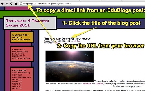 Copy EduBlogs Direct Link
