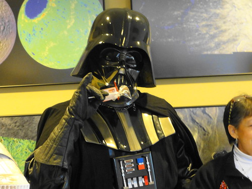 SpaceUpHou Darth Vader Loves Cakey Pops from Delectable P.I.E.S.