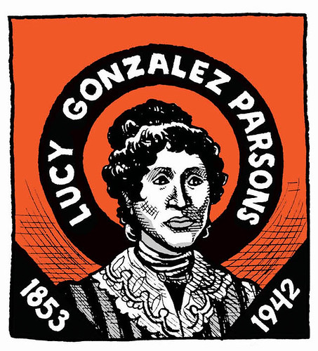 Lucy Parsons comic