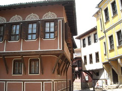 1680 (AngelasTravels) Tags: wood architecture design europe timber special bulgaria pastels plovdiv