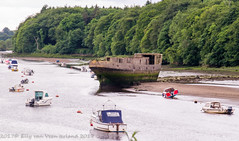 Ireland, Rosserk, Mayo, shipwreck