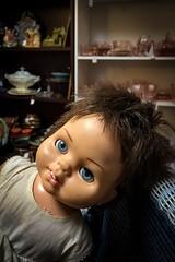 Dead Eyes (CarusoPhoto) Tags: john caruso carusophoto iphone 7 plus volo ilinois antique mall doll creepy scary dead eyes