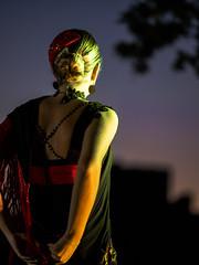 Amanecer en la Alcazaba 2017 (Adisla) Tags: olympus em1 mzuiko 40150mm f28 humano almeria noche