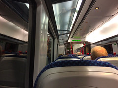 Through Castlerock Tunnel, 5th Jul 2017 (nathanlawrence785) Tags: nir translink caf train 4000 3000 class dmu londonderry coleraine portrush branch junction antrim railway station