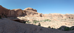 Bowtie and Corona Arch (meiners95) Tags: coronaarch bowtiearch utah moab arches june 2017 panorama photomerge