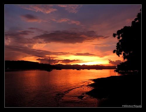 Coucher de soleil sur Gili Gede- Lombok- Indonésie- Indonesia