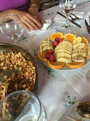 Lunch - Bar Restorant Lisi (wjshawiii) Tags: albania barrestorantlisi fier food fruit lunch