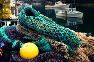 Fishing Nets and Lobster Boats