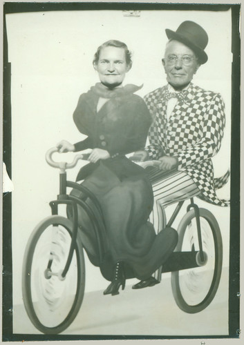 Arcade Photograph Bicycle for Two