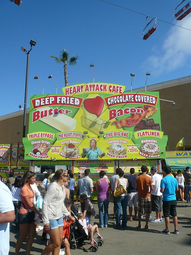 heart attack cafe. The Heart Attack Cafe at the San Diego Fair, Del Mar Fairgrounds, Del Mar,