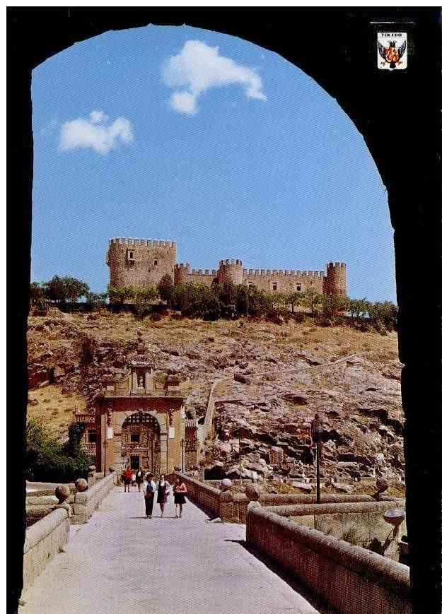 Castillo de San Servando en los años 60