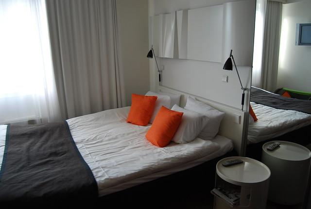 Hotel Twentyseven, Copenhague - Camas y cabecero