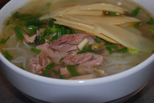 Duck and Bamboo soup
