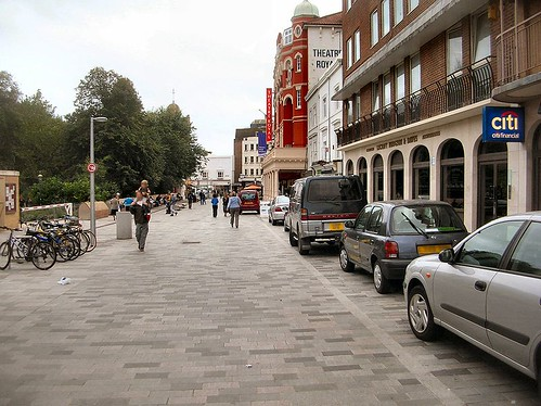 New Road, Brighton, UK, designed by Jan Gehl (by Wikimedia  user:DeFacto, creative commons license)