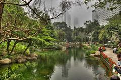 Hong Kong Park (mcgin's dad) Tags: park hongkong hdr photomatix canon450d