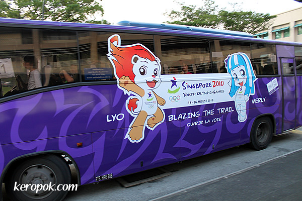 Youth Olympic Games Bus