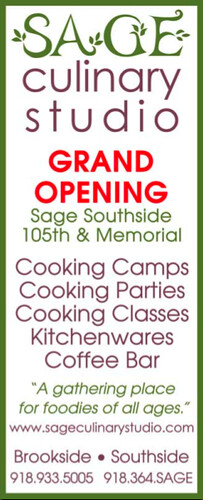 Sage Culinary Studio, on Brookside and now in south Tulsa