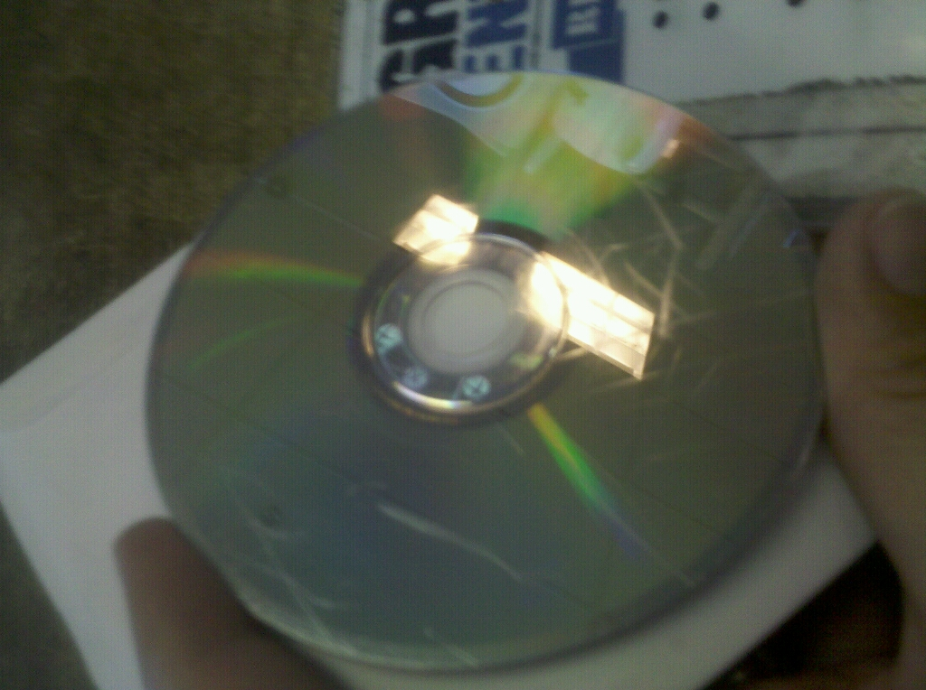how to fix a scratched xbox game