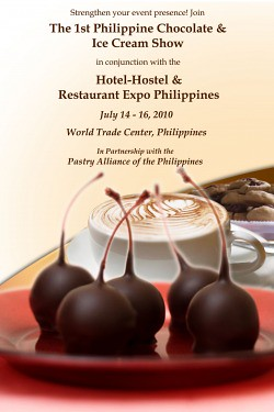 1st Philippine Chocolate & Ice Cream Show