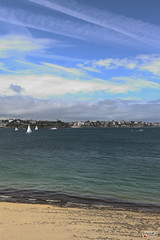 DELIGHTS OF SAINT-MALO (euskadi 69) Tags: sky france beach clouds boats coast sand brittany sable bateaux nuages ciels cotes lamanche theenglishchannel saintmalocity