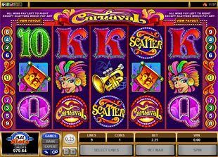 Carnaval slot game online review
