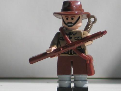 Custom minifig WW2 Gurkha rifleman.