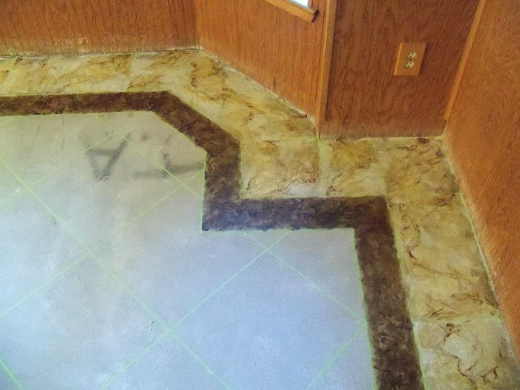 """Amazing """"tile"""" work."""