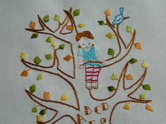 Alphabet Tree (2mayboys) Tags: embroidery