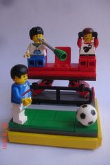 Vuvuzela (FilipS) Tags: ball fan football championship lego jar vignette moc vig vigs vuvuzela