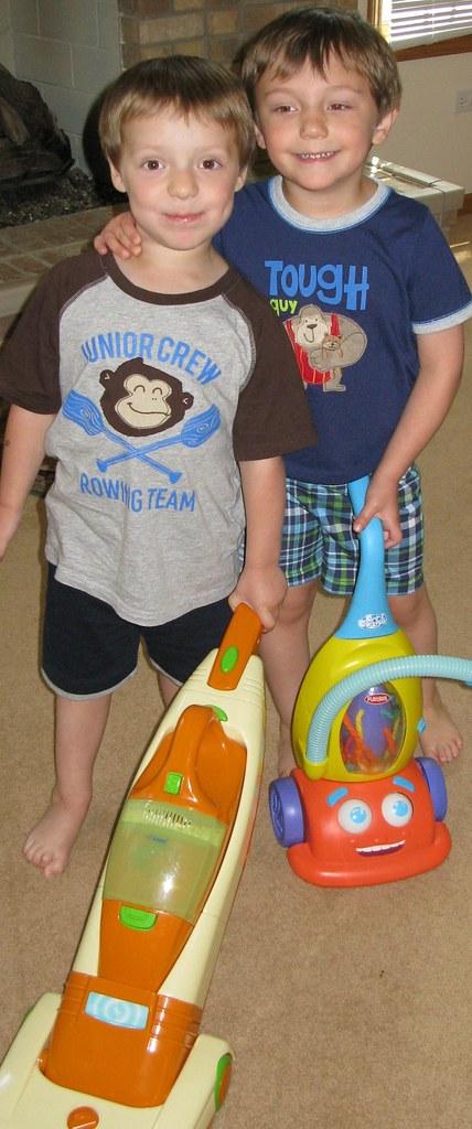 Eureka's Clean Living Kids Contest Finalist