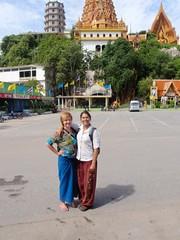 Chantal et nat à Wat Tham Sua