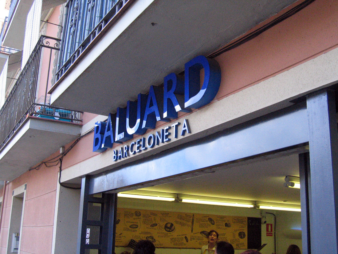 Baluart, Barceloneta