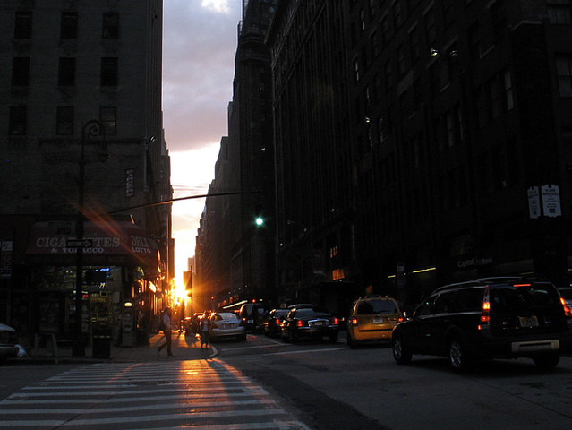 Manhattanhenge, NYC