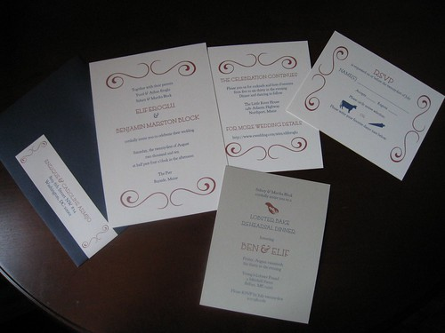 Project Three: Wedding Invitations