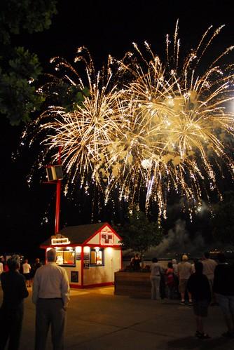 Navy Pier's Fireworks