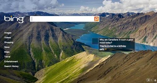 Bing Canada Day