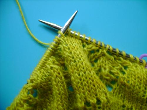 shetland tea shawl