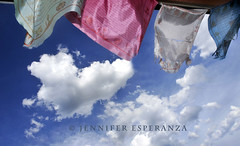 Heart Cloud & Prayer Flags  (Jennifer Esperanza) Tags: sky newmexico santafe beauty heart prayerflags frontporch blessed jenniferesperanza heartcloud nmsf