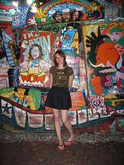 Gemma at Venice Cafe (mereshadow) Tags: girl daughter gemma stlouismissouri venicecafe