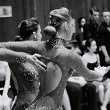 Dancers dancing ladies twins ballroom photography photo Mark Riley Cardwell Cardiff Journalism student