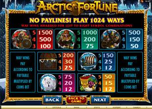 free Arctic Fortune slot mini symbol