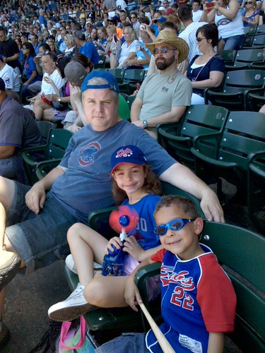 kids at wrigley