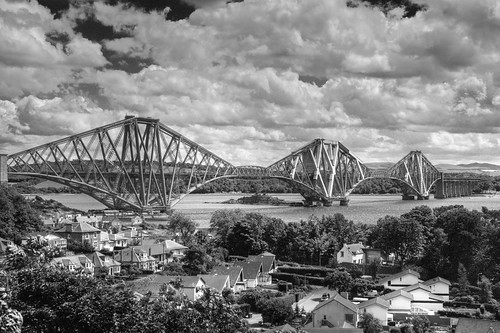 Forth Rail Bridge from the Road Bridge