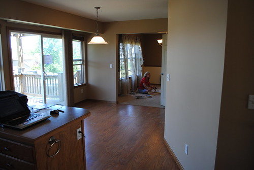 Eat-in kitchen and formal dining